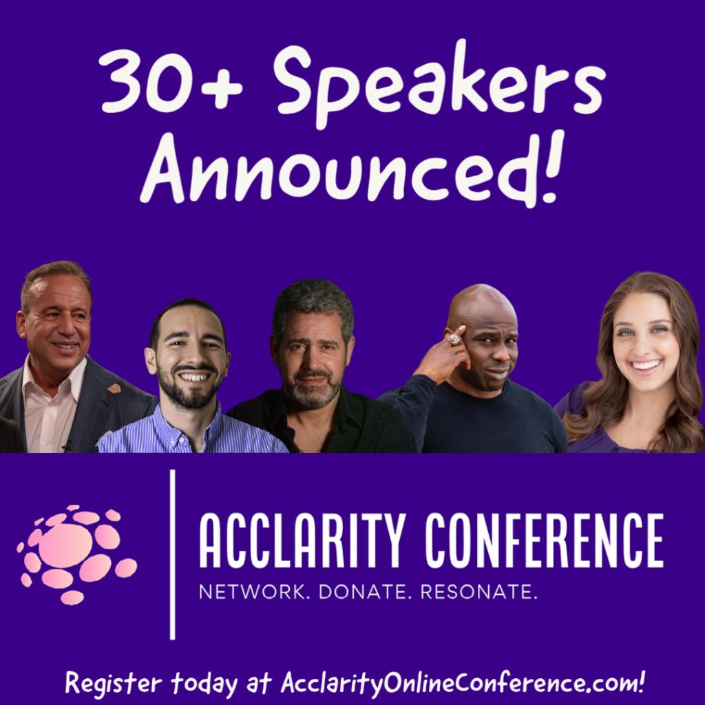 30+ Speakers Announced